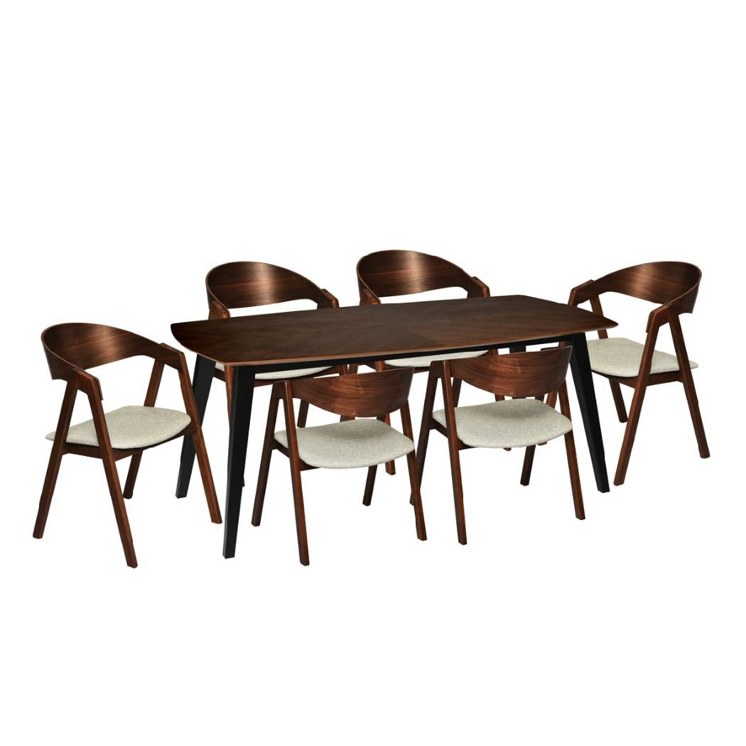 Ssf 7pcs Dining Set Fdtivr180301 Ssf Malaysia Great Lifestyle Made Affordable