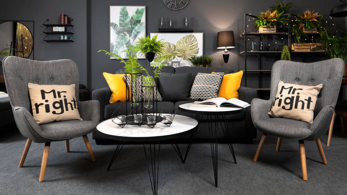 Decor look still popular in 2020 - individuality and colour pops!