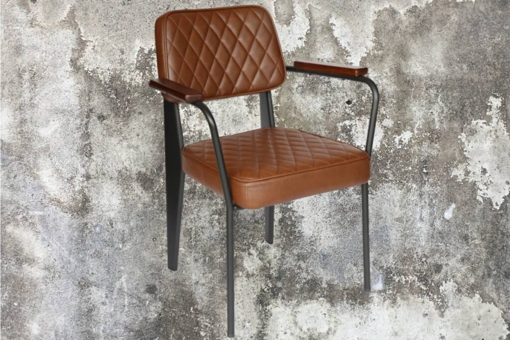 Use a comfortable armchair in place of your office chair as a temporary solution.