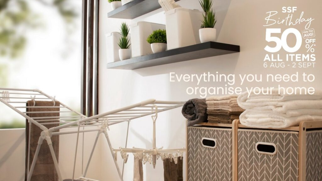 Storage solutions for keeping things neat and organised