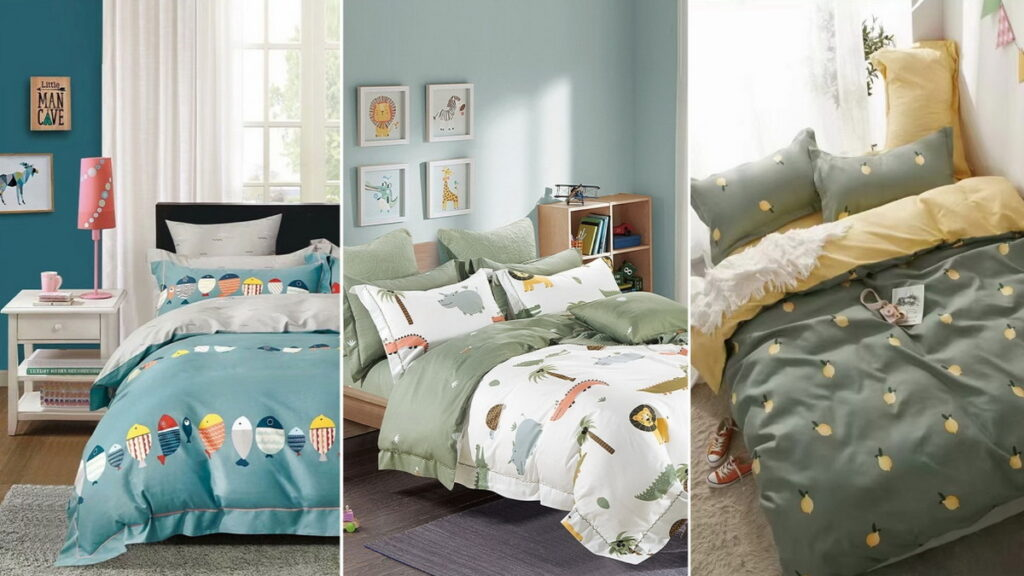 We bet your kids will love these bed sheets!