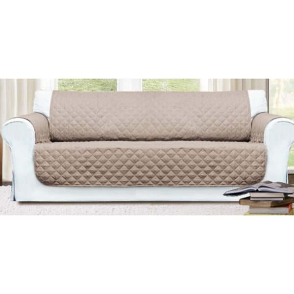 SSF 3 SEATER SOFA COVER (BEIGE) HGLRSF170702BE
