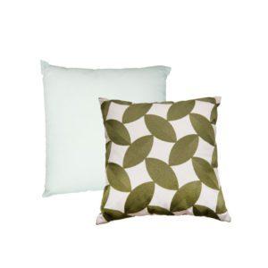 Fauna Square Cushion . Leaf . BBLFNS190902