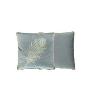 Daun Square Cushion . Grey . BBLKVT191205GY