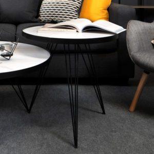 Mawiza Side Table . White . FCOFJF190602