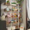 5 Tier Shelf . White . FGLMTR170303WH