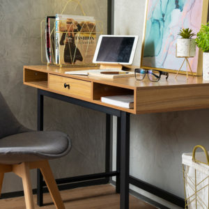 Uswah Desk with Drawer . FOTGDX190615