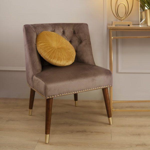 Izz Lounge Chair . Coffee . FSODSS190302CF