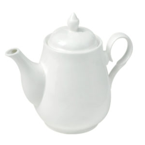 SSF TEA POT (WHITE) KTWYTY160427