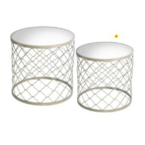 SSF NESTING TABLE - (WHITE) FCOFTS141001S