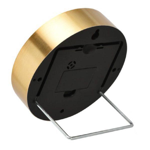 SSF ROUND TABLE CLOCK (GOLD WHITE) QCKEST180906GW