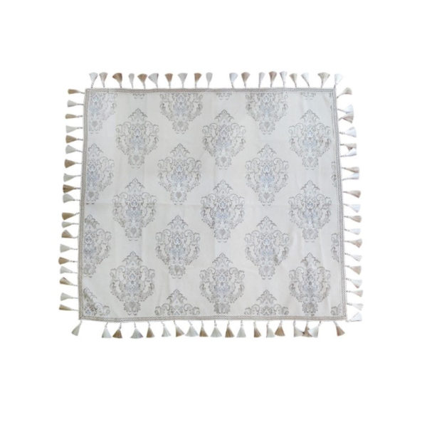 SSF PATTERNED TABLE CLOTH (BEIGE) STCFSY190901BE