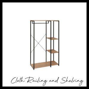 Cloth Railing and Shelving