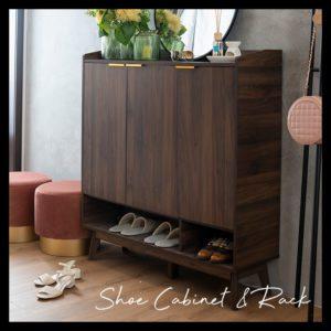 Shoe Cabinet & Rack